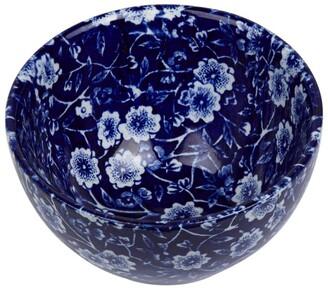 Burleigh Blue Calico Sugar Bowl (10Cm)