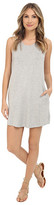 BB Dakota Bernice French Terry and Eyelet Trim Racerback Dress