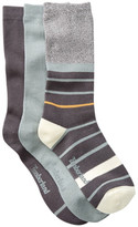 Timberland Solid & Pattern Crew Socks - Pack of 3