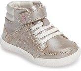 Stride Rite Stone High Top Sneaker (Baby, Walker & Toddler)