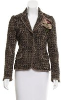 Moschino Cheap & Chic Moschino Cheap and Chic Embellished Bouclé Blazer