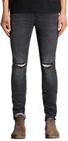 Allsaints Allsaints Bannock Cigarette Jeans, Black