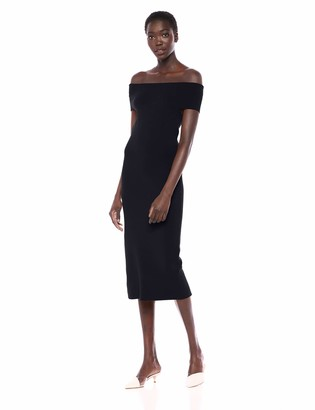 Lark & Ro Amazon Brand Women's Off the Shoulder Sheath Sweater Dress