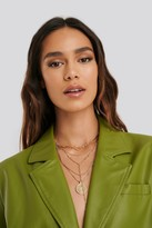 NA-KD Layered Coin Drop Chain Necklace