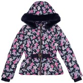 Juicy Couture Girls Poppies N Posies Puffer With Detachable Sleeves