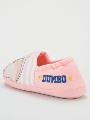 Disney Dumbo Girls Slippers - Pink/Grey