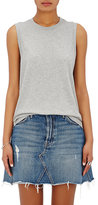 RE/DONE Women's Cotton Jersey Sleeveless T-Shirt-GREY