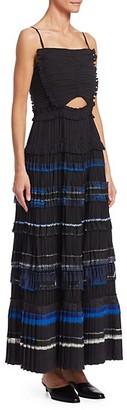 3.1 Phillip Lim Pleated Ruffle Dress