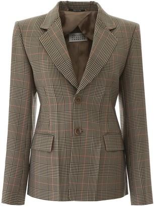 Maison Margiela Tailored Checked Blazer