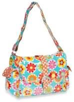 Kalencom Laminated Single Buckle Diaper Bag in Big Daisy