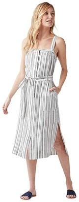 Splendid Bourne Dress (Navy) Women's Clothing