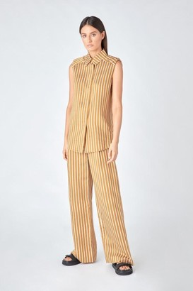 Camilla And Marc Zion Stripe Slv.ls Shirt
