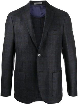Corneliani Tailored Check Blazer