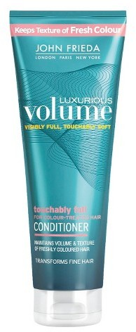 John Frieda Luxurious Volume Touchably Full For Colour Treated Hair Conditioner - 5.0oz