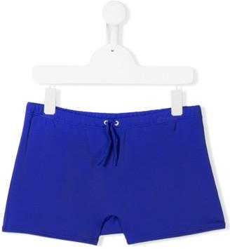 Diesel logo drawstring swim shorts