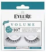 Eylure Volume 107 Pre Glued Lashes (Pack of 4)