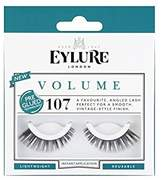 Eylure Volume 107 Pre Glued Lashes (Pack of 6)