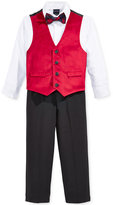Nautica 3-Pc. Velvet Vest, Shirt & Pants Set, Little Boys (2-7), Only at Macy's