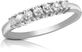 Forzieri 0.24 ct Diamond 18K Gold Band Ring