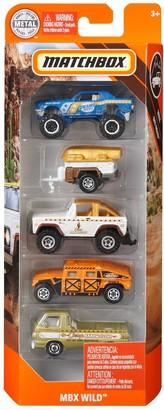 Mattel Matchbox MBX Wild Vehicles 5-Pack