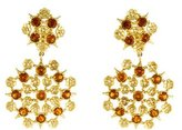 Paul Morelli 18K Diamond & Citrine Floral Lace Earrings