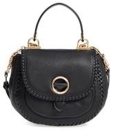 MICHAEL Michael Kors Medium Isadore Leather Crossbody Bag - Black