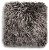 "UGG Mongolian Sheepskin Fur Decorative Pillow, 16"" x 16"""