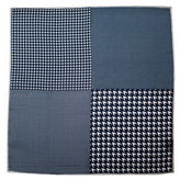 The Tie Bar Houndstooth Patch Pattern Pocket Square