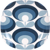 Orla Kiely '70s Flower Blue Side Plate