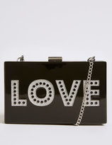 Marks and Spencer Love Box Clutch Bag