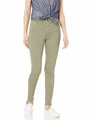 Daily Ritual Amazon Brand Women's High-Rise Skinny-Colored Denim
