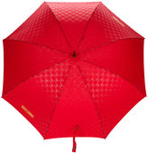 Moschino monogram logo umbrella