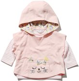 M&Co Hooded cat cape and top set