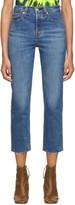 Levi's Levis Blue Straight Wedgie Jeans