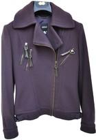Versus Purple Wool Jacket for Women