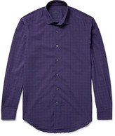 Lanvin - Slim-fit Checked Cotton Shirt