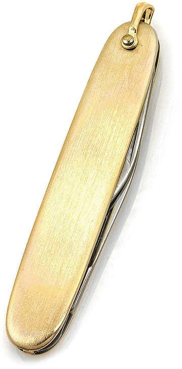 Asstd National Brand Plated 2-Blade Pocket Knife
