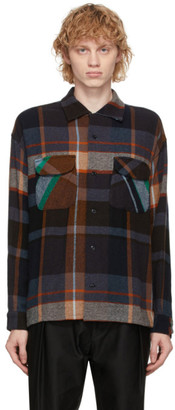 ts(s) tss Multicolor Round Flap Pocket Baggy Shirt