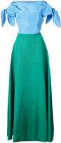 Carolina Herrera open back gown