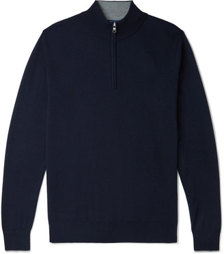 Peter Millar Knitted Half-Zip Sweater