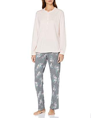 Schiesser Women's Anzug Lang Pyjama Sets,UK