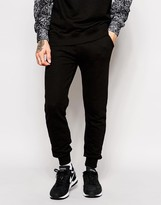 Eleven Paris X Life Is A Joke Skinny Joggers With Contrast Pocket - Black