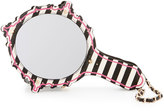 Betsey Johnson Kitsch Mirror Striped Wristlet, Multi