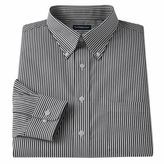 Croft & Barrow Men's Fitted Patterned Easy-Care Button-Down-Collar Dress Shirt