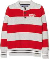 Tommy Hilfiger Boy's Rugby Stripe Henley L/S Long Sleeve Top