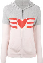 Chinti and Parker love heart hoodie - women - Cashmere - XS