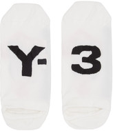 Y-3 White Invisible Socks