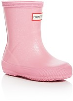 Hunter Girls' First Glitter Rain Boots - Walker
