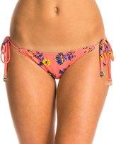 MinkPink By The Sea Reversible Tie Side Bikini Bottom 8134900