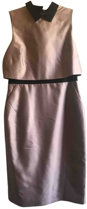 LK Bennett Pink Silk Dress for Women